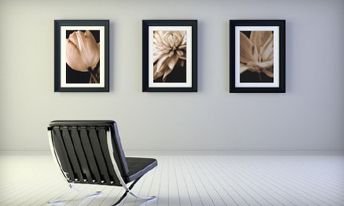 OnlineWall.com: Fine Art Prints, Framed Art, and Canvases from OnlineWall.com (70% Off). Two Options Available.