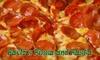Pavlo's Pizza and Pasta - San Ramon: $10 for $20 Worth of Italian Dining and Wining at Pavlo's Pizza and Pasta in San Ramon