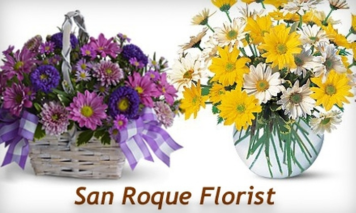 San Roque Florist - Fig Garden Loop: $20 for $40 Worth of Flowers from San Roque Florist