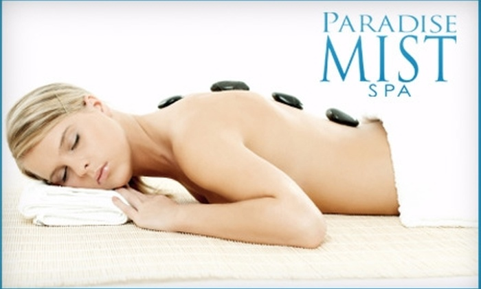 Paradise Mist Spa - Gurnee: $69 for an 80-Minute Hot-Stone Massage at Paradise Mist Spa in Gurnee ($150 Value)