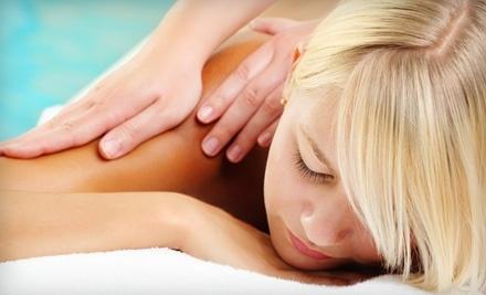 Salon Solaris: 60-Minute Custom Therapeutic Massage  - Solaris Aveda Salon in Evansville