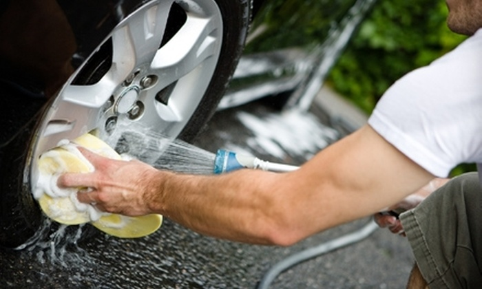 Super Car Wash - Multiple Locations: $18 for an Express Complete Detail and Platinum Wash at Super Car Wash ($37.98 Value)