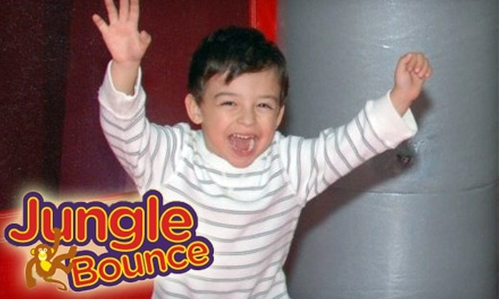 Jungle Bounce - New Port Richey: $15 for a Five-Admission Punch Card at Jungle Bounce in Holiday ($30 Value)