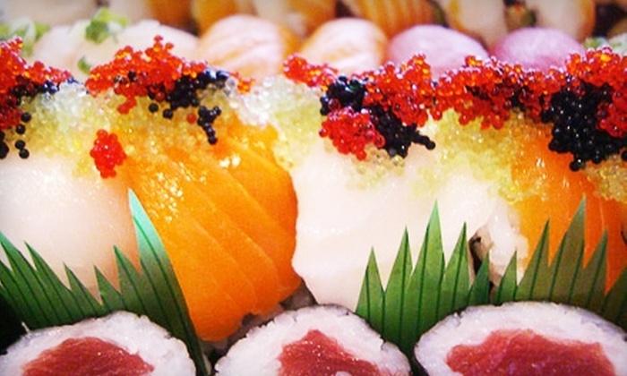 Ozumo Japanese Restaurant - Plainedge: $15 for $30 Worth of Sushi and Drinks at Ozumo Japanese Restaurant in Bethpage