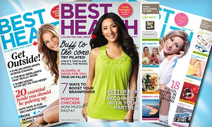 """Best Health Magazine"": $12 for One-Year Subscription to ""Best Health Magazine"" ($24.11 Value)"