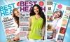 "Half Off ""Best Health Magazine"" Subscription"