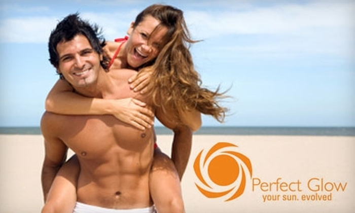 Perfect Glow Tanning Salon - Cultural District: $17 for an Airbrush Spray Tan or $12 for a Mystic Tan at Perfect Glow Tanning Salon