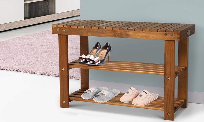 HomCom Shoe Storage Rack