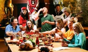 Kauzenburg: Großes Gelage an der Rittertafel mit 7 Gängen für 1 oder 2 Personen im Restaurant Kauzenburg (25% sparen*)