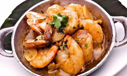 Seafood for Take-Out or Delivery for Two or Four or More at Whalley Seafood (Up to 50% Off)