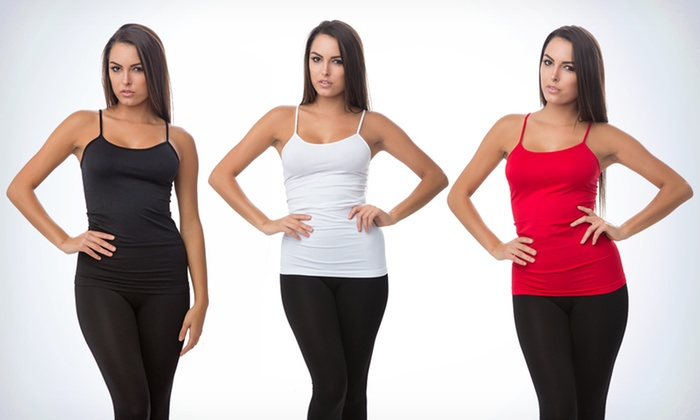 3-Pack of Seamless Extra-Long Camis: $19.99 for a 3-Pack of Seamless Camis ($74 List Price). Multiple Colors Available. Free Shipping and Returns.