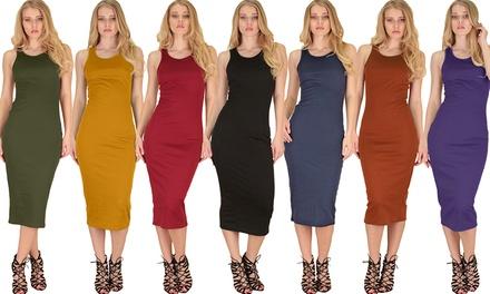 $25 for a Lyss Loo Hourglass Bodycon Midi Dress