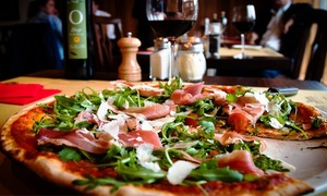 Wallace's Winebars: Two-Course Italian Meal with Wine or Craft Beer for Two at Wallace's Asti (Up to 47% Off)