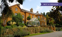Northamptonshire: 1 to 3 Nights For Two With Breakfast; With Option For Dinner and Wine at the 4* Sedgebrook Hall