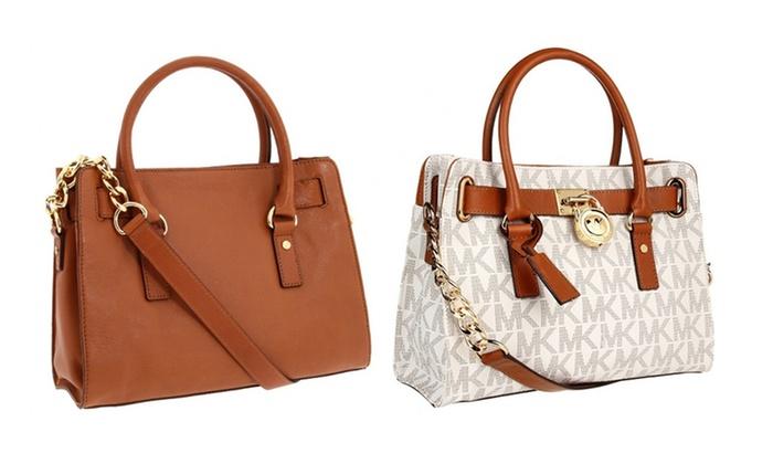 d5328517a49e Michael Kors Hamilton Handbags