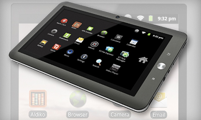 Coby Kyros 7-inch Android Touchscreen Tablet : $112 for a 4GB Coby Kyros MID-7120-4G 7-Inch Android Tablet with Accessories from BTVDirect.com ($199 Value)