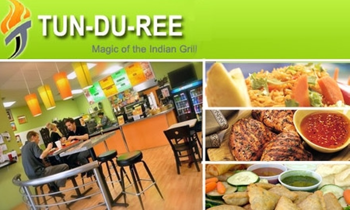 Tun-du-ree - Tampa: $9 for $18 Worth of Indian Cuisine at Tun-du-ree