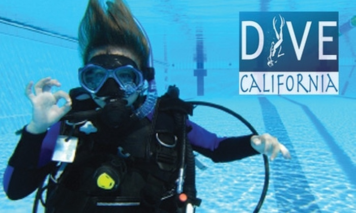 Dive California - Midway District: $39 for an Introductory Scuba-Diving Lesson at Dive California