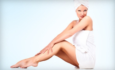 6 Laser Hair-Removal Treatments on an Extra Small Area (a $774 value) - Lux Cosmedic Spa in Langley