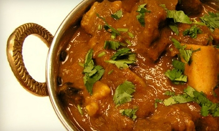 Saffron Tiger - North Valley: $7 for $15 Worth of Indian Fare and Drinks at Saffron Tiger