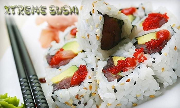Xtreme Sushi - Paradise: $20 for $40 Worth of Sushi and More at Xtreme Sushi
