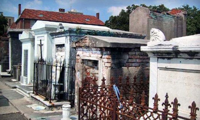 French Quarter Phantoms - French Quarter: Cemetery Walking Tour for Two or Four from French Quarter Phantoms (Up to 63% Off)