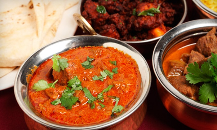 Taj Mahal Restaurant - Downtown: $15 for $30 Worth of Indian Fare and Drinks at Taj Mahal Restaurant