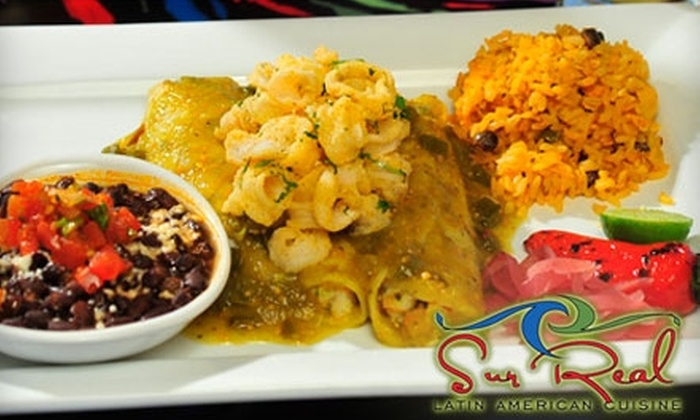 Sur Real - Tucson: $25 for $50 Worth of Latin American Fare at Sur Real