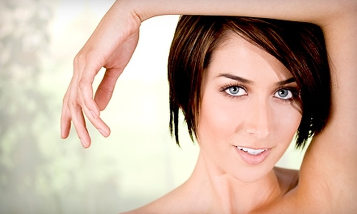 Nivika Medspa - Greenbelt: $165 for Five Laser Hair-Removal Treatments at Nivika Medspa in Greenbelt (Up to $500 Value)