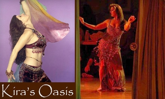 Kira's Oasis - Washington: Half Off Two Belly-Dancing Classes at Kira's Oasis. Choose Between Two Options.