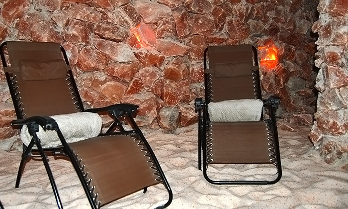 Bethesda Salt Cave - Bethesda: Yoga Nidra Salt-Cave Sessions for 1, 2, or 4 people at Bethesda Salt Cave (Up to 40% Off)