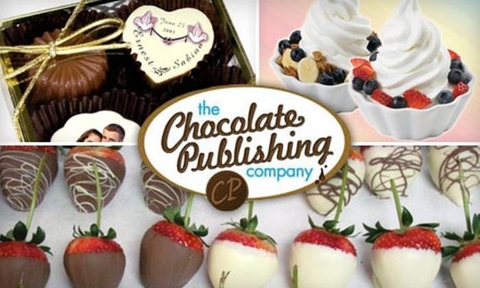 Chocolate Publishing Company - Pikesville: $10 for $20 Worth of Sweet Treats at the Chocolate Publishing Company Retail Store in Pikesville