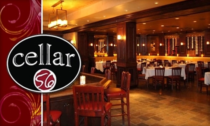 Cellar 56 - South Tuxedo Park: $10 for $25 Worth of Wine and Small Dishes at Cellar 56