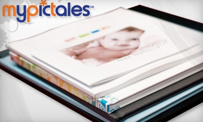 "MyPicTales: $34 for One 12""x12"" Custom Hardcover Photo Book or Two 8.5""x11"" Classic Hardcover Photo Books from MyPicTales ($70 Value)"