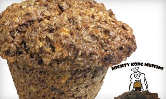Mighty Kong Muffins - Southeastern Sacramento: $15 for 12 Four-Ounce or 24 Two-Ounce Muffins at Mighty Kong Muffins