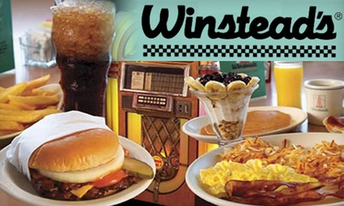Winstead's - Multiple Locations: $5 for $10 Worth of Steakburgers, Shakes, and More at Winstead's