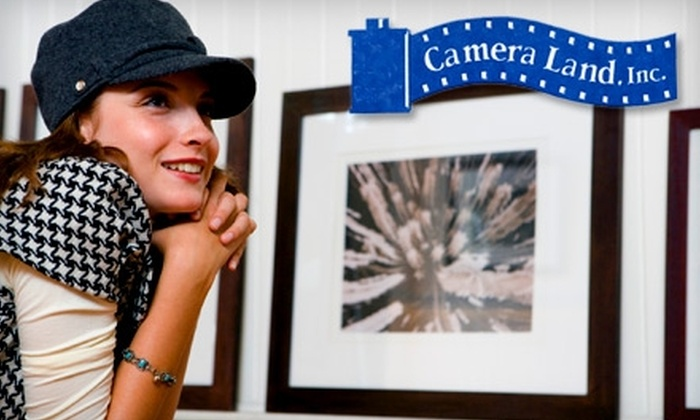Camera Land - Midtown Center: $18 for $50 Worth of Picture Enlargements at Camera Land
