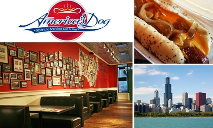 America's Dog - Loop: $2 for Two Hot Dogs at America's Dog