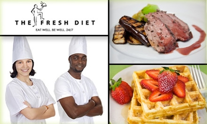 The Fresh Diet - Philadelphia: $29 for Three Fresh, Healthy Meals and Two Snacks from The Fresh Diet ($60 Value)
