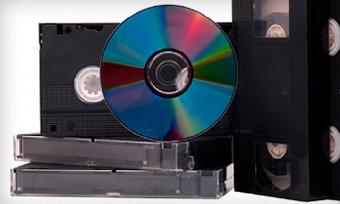 Camera Corner - Green Bay: $12 for a Media Transfer to DVD at Camera Corner ($25 Value