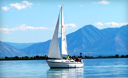 2-Hour Discover Sailing Lesson for Two (a $190 value) - Bonneville School of Sailing in Provo
