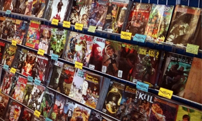 Pittsburgh Comics - McMurray: $5 for $12 Worth of Comics, Graphic Novels, and More at Pittsburgh Comics in McMurray