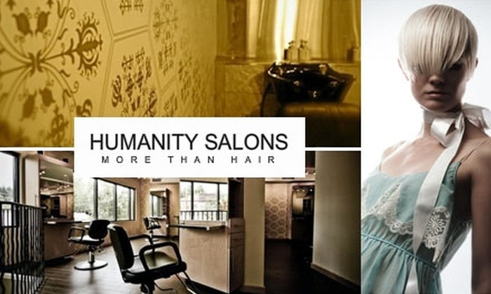 Humanity Salons - Kent: $49 for $110 Worth of Hair and Skin Treatments at Humanity Salons