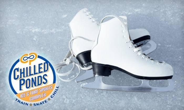 Chilled Ponds Ice & Turf Sports Complex - Greenbrier East: $5 Admission and Skate Rental (Up to $10 Value) or $59 for a Learn to Skate Program ($119 Value) at Chilled Ponds Ice & Turf Sports Complex