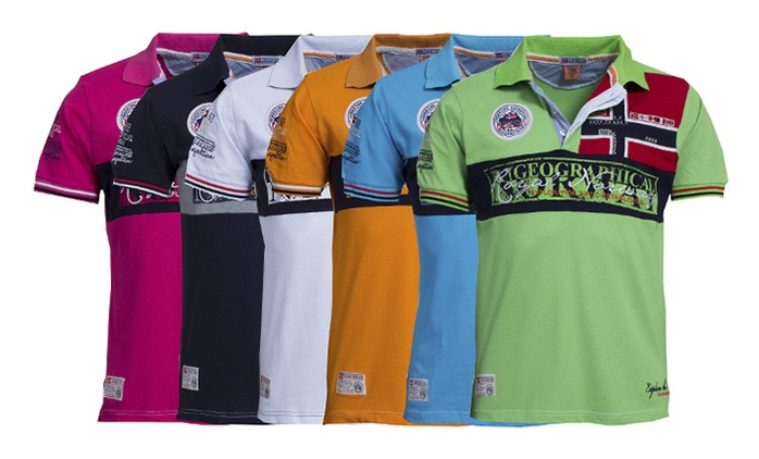 Geographical Norway Kyer Polo Shirt in Choice of Colour and Size for £20.99