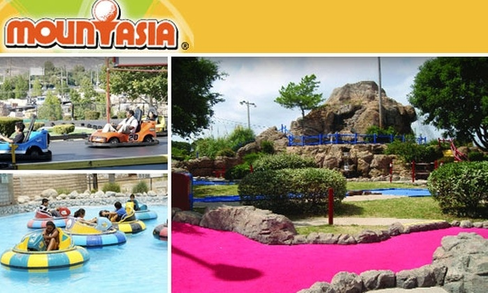 Mountasia - Houston: Unlimited Go-Karts, Bumper Boats & Mini-Golf with All-Day Pass to Mountasia Entertainment Park
