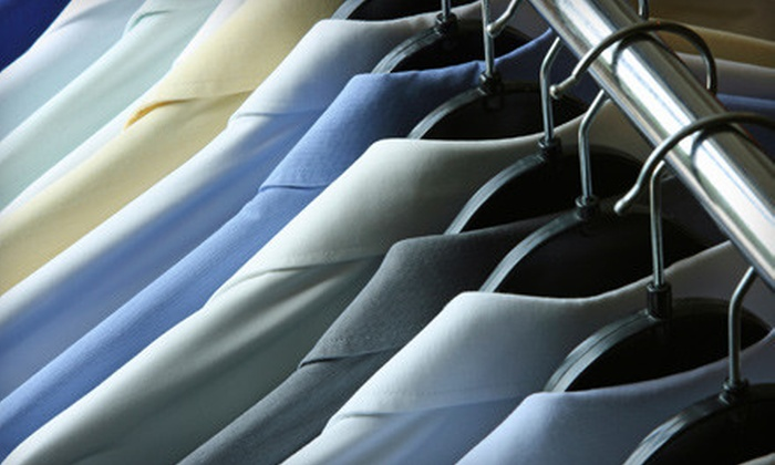 Jet Cleaners - New Haven: Dry-Cleaning or Wedding-Gown Heirlooming Services from Jet Cleaners in New Haven (Half Off). Three Options Available.