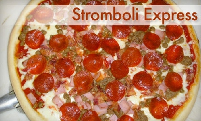 Stromboli Express - Central Business District: $7 for $15 Worth of Stromboli, Pizza, and More at Stromboli Express