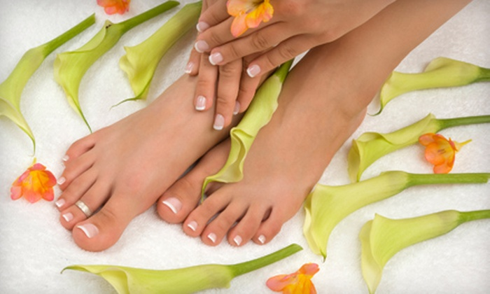 Il Villaggio Nail Spa - Greenwich Village: Basic Mani-Pedi or Shellac Manicure and Basic Pedicure at Il Villaggio Nail Spa (Up to 55% Off)