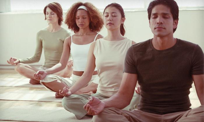 Aromansse - Norwood East: $49 for 10 Vinyasa Flow Yoga Classes at Aromansse ($126 Value)